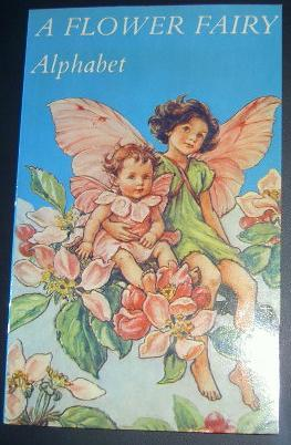 A Flower Fairy,  Alphabet, Cicely Mary Barker.